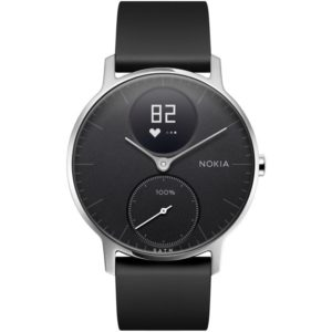 Tracker WITHINGS / NOKIA Steel HR 36mm Noir